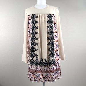 Entro Embroidered Dress